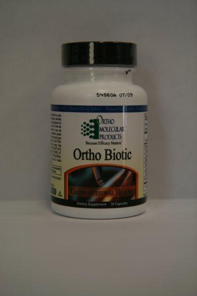 Ortho Biotic, Probiotic, 60 Capsules