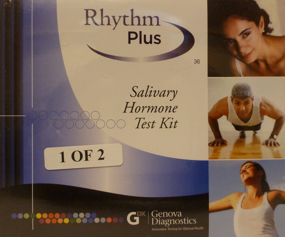 Rhythm Plus Salivary Hormone Test Kit