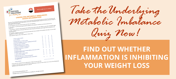 Is inflammation inhibiting you from losing weight