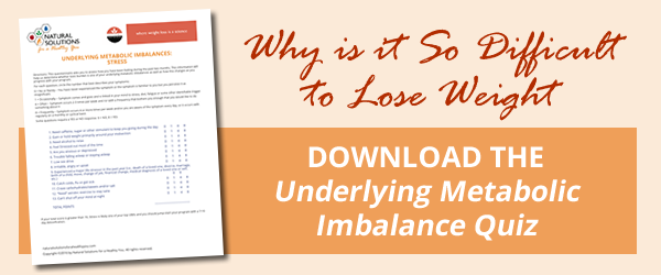 click here to find your underlying metabolic imbalance